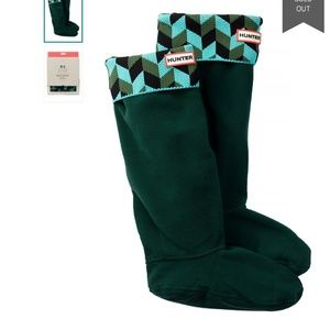 NEW Hunter 'Geometric Dazzle' Original Tall Socks